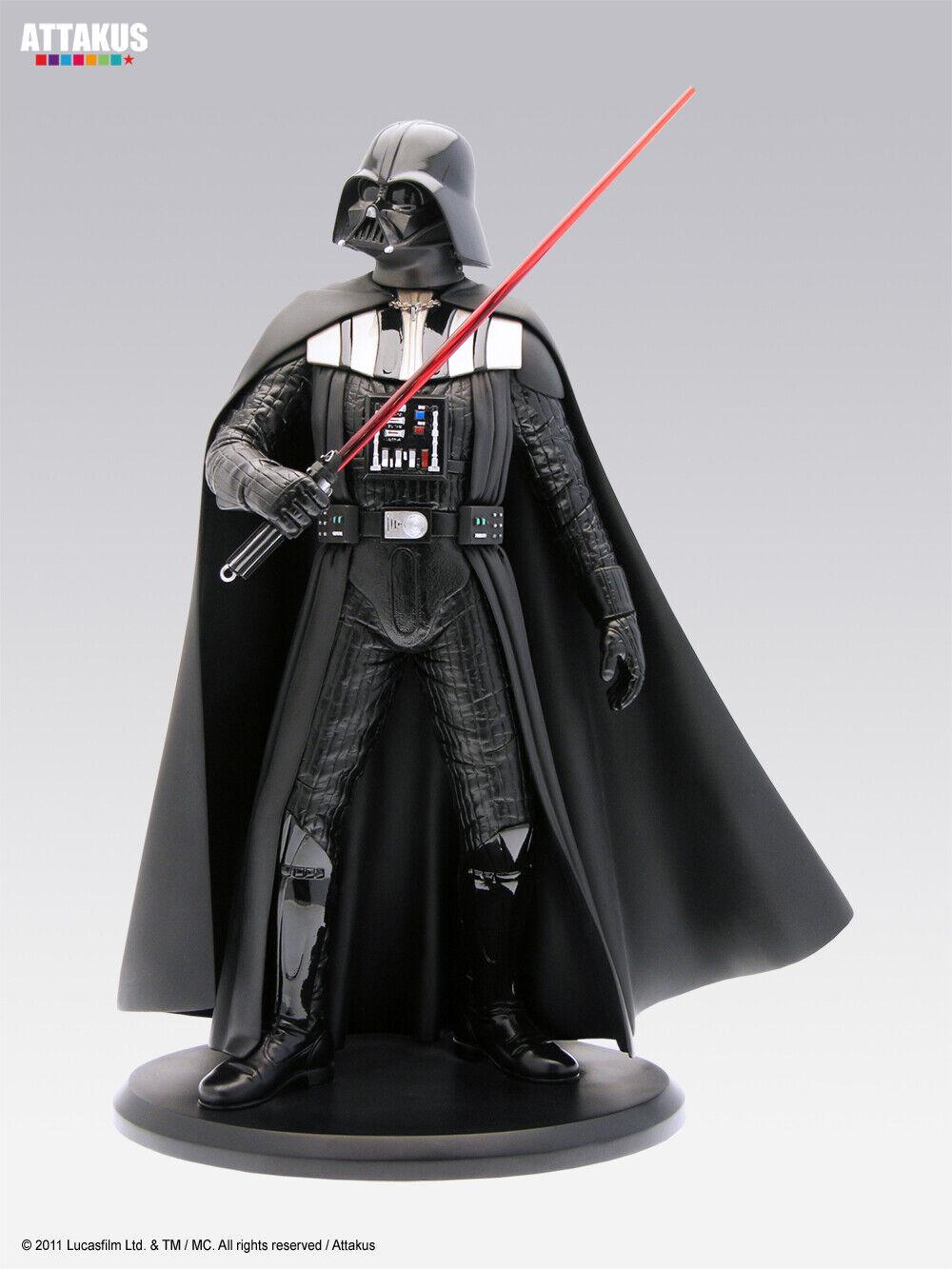 Attakus Statue Darth Vader Dark Vador Star Wars 40 cm 1500 exemplaires