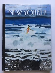 """the New Yorker Magazine ~ August 31, 2020 ~ """"Out of the Blue"""""""