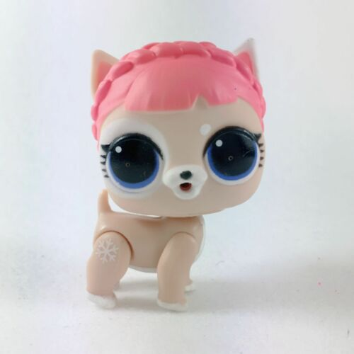 No Fuzzy LOL Surprise doll FUZZY PETS Makeover Series 5 ICE BARKER