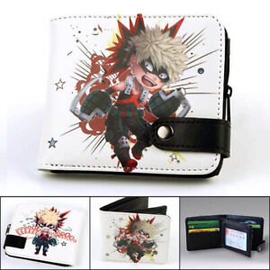 Boku No Hero Academia Wallet My Hero Academia Purse With Card Holder Cluth Gift