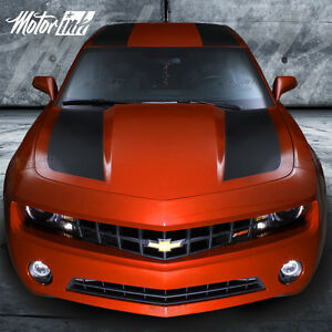 2010 2012 2013 Chevy Camaro Rally Over the Top Racing Stripes Decals Hood Trunk