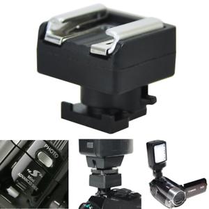 Mini-Advanced-Hot-Shoe-to-Universal-Shoe-Adapter-for-Canon-VIXIA-HF-200-S100-M30