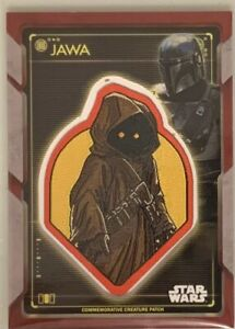 Star Wars Holocron Jawa Patch With Mandalorian On The Top Corner 1/1