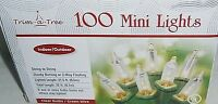 Christmas 100 Ct Clear Light Set String To String Connection Green Wire