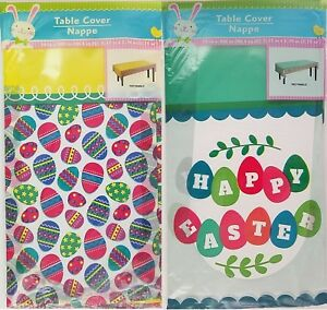 Easter-Table-Covers-Easter-Egg-or-Happy-Easter-Trim-54-x108-Select-Theme