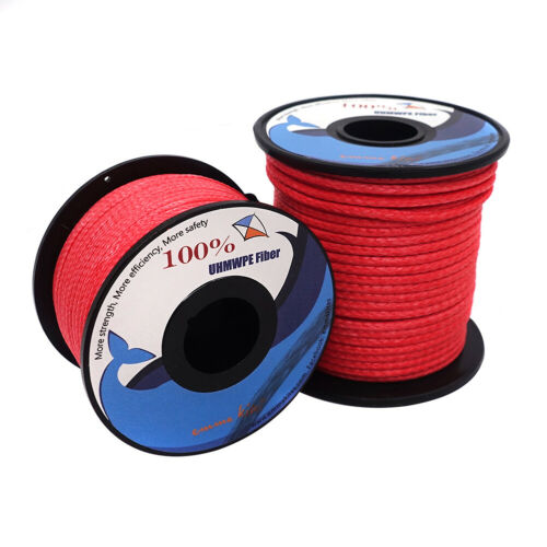 Heavy Duty 100~1000lb Braided Dyneema Line Outdoor Utility Cord Tactical Fishing