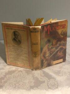 """""""The Mucker"""" by Edgar Rice Burroughs  G&D 1932 Book NF; Much Earlier DJ, VG"""