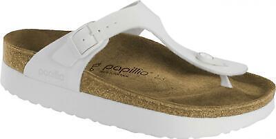 Papillio by Birkenstock GIZEH 1013580 Reg Ladies Womens Toe Post Sandals White