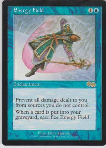 MTG 1X Energy Field X1 Urza/'s Saga Magic SP