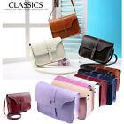 Fashion Women Leather Shoulder Bag Handbag Messenger Hobo Satchel Purse Tote Lot
