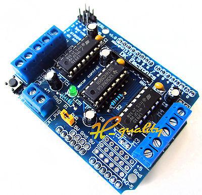 Motor Drive expansión Escudo Board módulo L293d Para Arduino Duemilanove Mega Uno