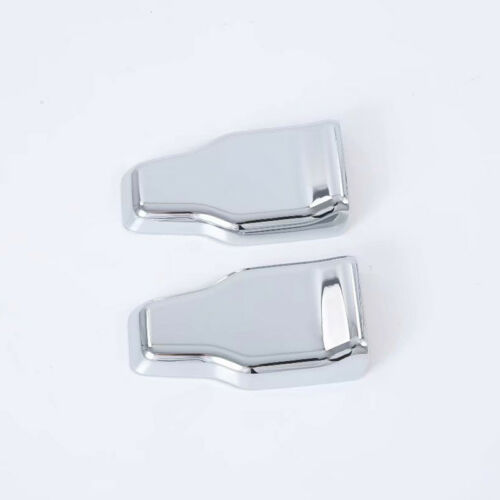 ABS Chrome Rear Tail Gate Glass Hinge Cover 2pcs for Jeep Wrangler JL 2018-2019