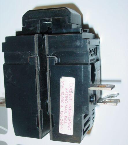 PUSHMATIC Gould Circuit Breaker 40C # P250 50AMP 2 Pole 120//240V BULLDOG