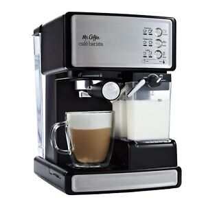 Image Is Loading Mr Coffee Cafe Barista Espresso Maker With Automatic