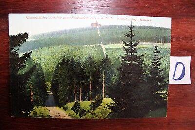 Klug Postkarte Ansichten Sachsen Himmelsleiter Aufstieg Zum Fichtelberg StraßEnpreis