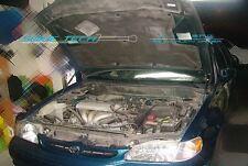 98-02 Toyota Corolla Carbon Fiber Strut Hood Shock Gas Lift Stainless Damper Kit