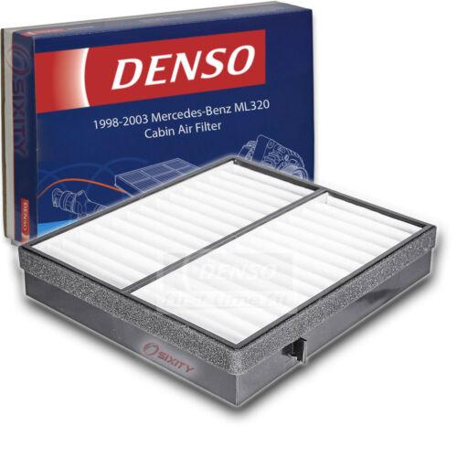 Denso Cabin Air Filter for Mercedes-Benz ML320 3.2L V6 1998-2003 HVAC op