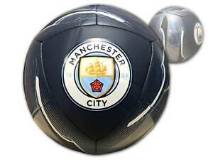Puma Manchester City Icon Fan Ball  blau ManCity Fußball Trainingsball MCFC Gr.5