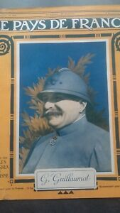 Rivista Il Paesi Di Francia Il Mattina N° 107 Parigi 1916 Guillaumat GAL ABE