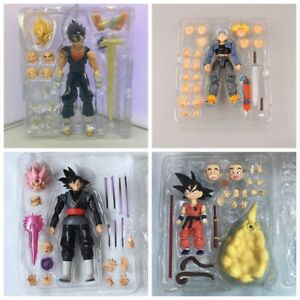 Super-Saiyan-Dragon-Ball-Z-God-Goku-Vegetto-Vegeta-Trunks-Frieza-Action-Figure