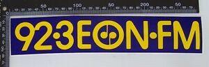 VINTAGE-92-3-EON-FM-MELBOURNE-RADIO-AUSTRALIA-ADVERTISING-PROMO-STICKER