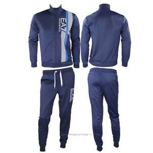 Emporio-Armani-EA7-Tuta-felpa-e-pantalone-Uomo-3HPV07-Blu-Primavera-Estate