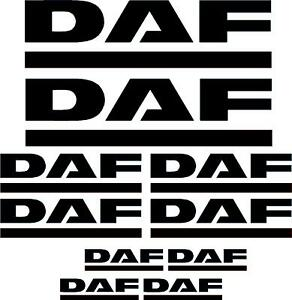 DAF-decals-graphics-stickers-x10-pieces-any-colour