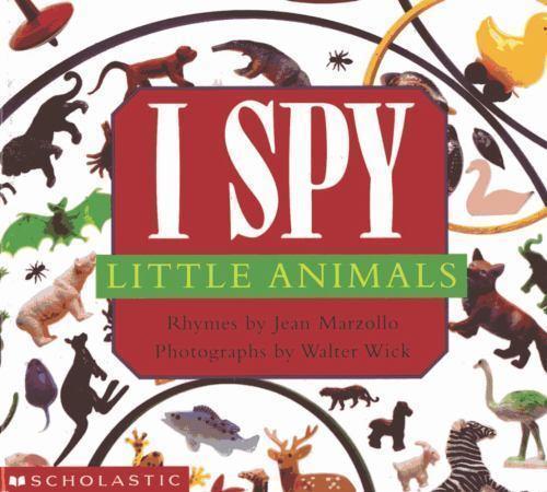 I Spy I Spy Little Animals By Jean Marzollo 1998, Board -9748