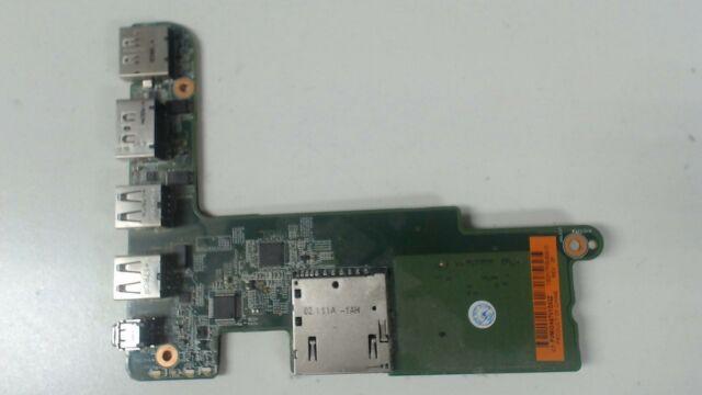 HP EliteBook 8560w Card Reader USB Board 100317P00-600-G