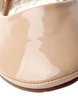 Para Mujer Desnuda patente Plana Dolly Ballet Bombas Ballerina Zapatos SEÑORAS UK Size 3-8