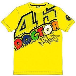 Official Vr46 Valentino Rossi Motogp Yellow Men S T Shirt Vrmts