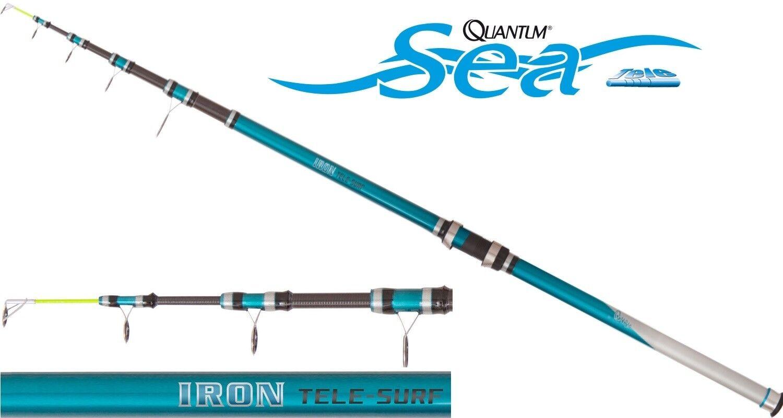 Quantum Iron Tele Surf   Tele-Brandungsrute 4,20m  Merresrute