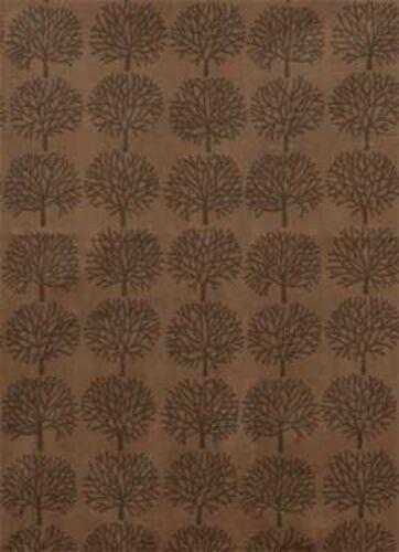 Alexander Henry Just Ghastly Ghastlie Forest 7160J Dirt HALF YARD Cotton Fabric