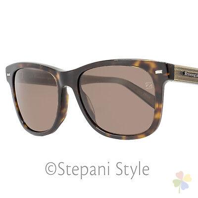 Ermenegildo Zegna Sunglasses EZ0028 52J Dark Havana 28