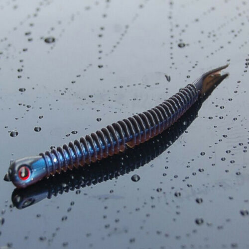5pcs Silicone Soft Worm Lure Fishing Bait Fishing Lures Bionic Lure Best