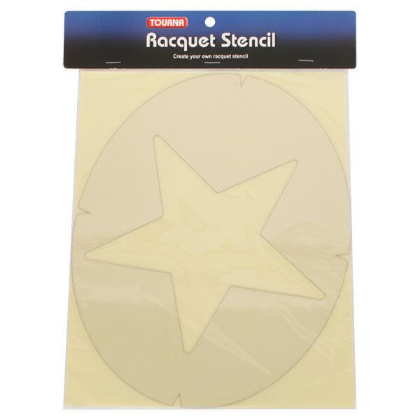 Tourna fun raquette tennis de tennis raquette string stencil-star-free p&p 22b884