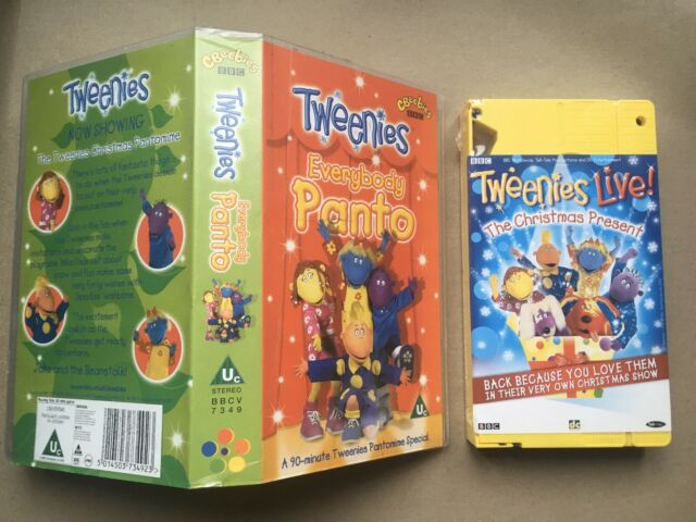Tweenies- Everybody Panto - Children's VHS Sealed Tape & Case. Collectable New