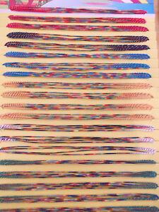 Caricamento dell\u0027immagine in corso 70,BRACCIALETTI,PORTAFORTUNA,BRASILIANI, COLORI,ASSORTITI,FESTIVANYA