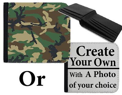 Analitico Portafoglio Design Mimetico Verde Army Marine Motivo Mimetico Design Borsetta Bag B708-mostra Il Titolo Originale