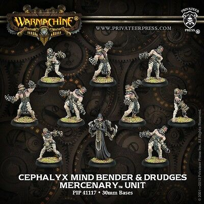 Mercenaries Cephalyx Mind Bender & Drudges PIP 41117 -- Used -- Out of Box