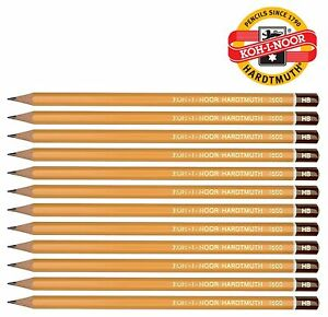 KOH-I-NOOR 1500 6B Graphite Pencil Pack of 12