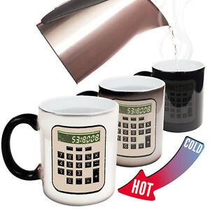 Funny Mugs Boobies Calculator Geek Geeky Nerd Nerdy Gamer MAGIC NOVELTY MUG