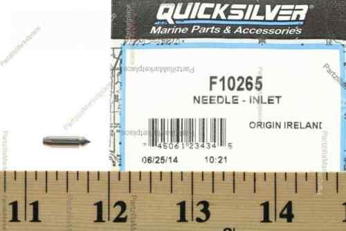 Mercury F10265 NEEDLE-INLET