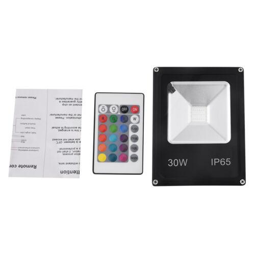 Waterproof RGB LED Flood Light 100W 50W 30W-10W Garden Color Changing W//Remote
