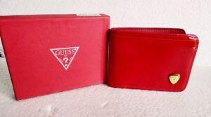 esperanza excusa brumoso  Hombres Billetera Diesel Cuero Billetera Portatarjetas Color Rojo | eBay
