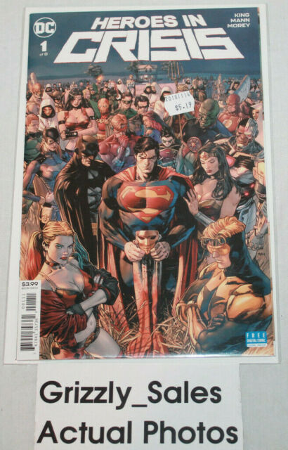 DC Heroes in Crisis #1 Comic -CanadianSeller-