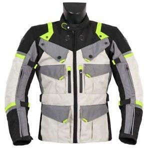 Giacca-Moto-Uomo-Prexport-Goteborg-Ghiaccio-Giallo-3-Strati-4-Stagioni