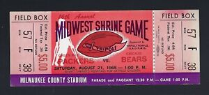 VINTAGE-1965-NFL-CHICAGO-BEARS-GREEN-BAY-PACKERS-FULL-UNUSED-FOOTBALL-TICKET