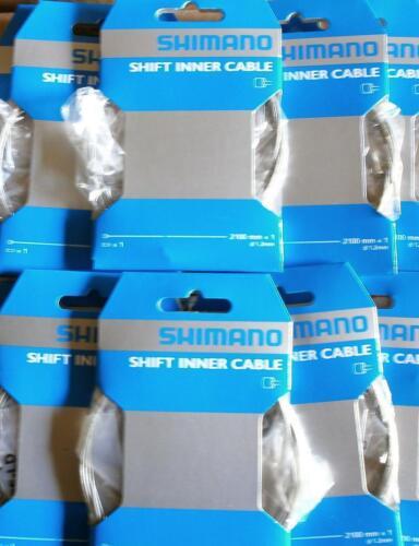 . 2100mm Lot 2 Cables de dérailleur Vélo VTT Shimano 1,2mm avec embout