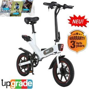 """DOHIKER Bicicletta Elettrica Pieghevole 14""""E-Bike 350W ..."""